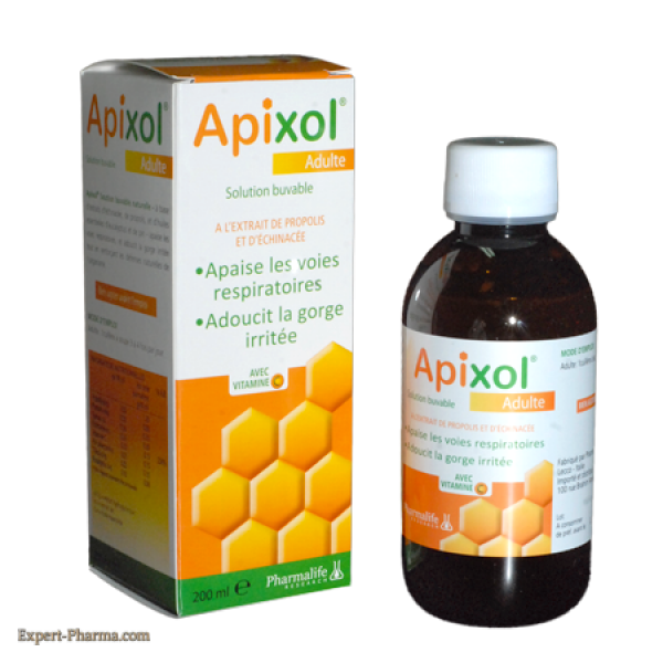 Expert Pharma : APIXOL SIROP ADULTE 200ML